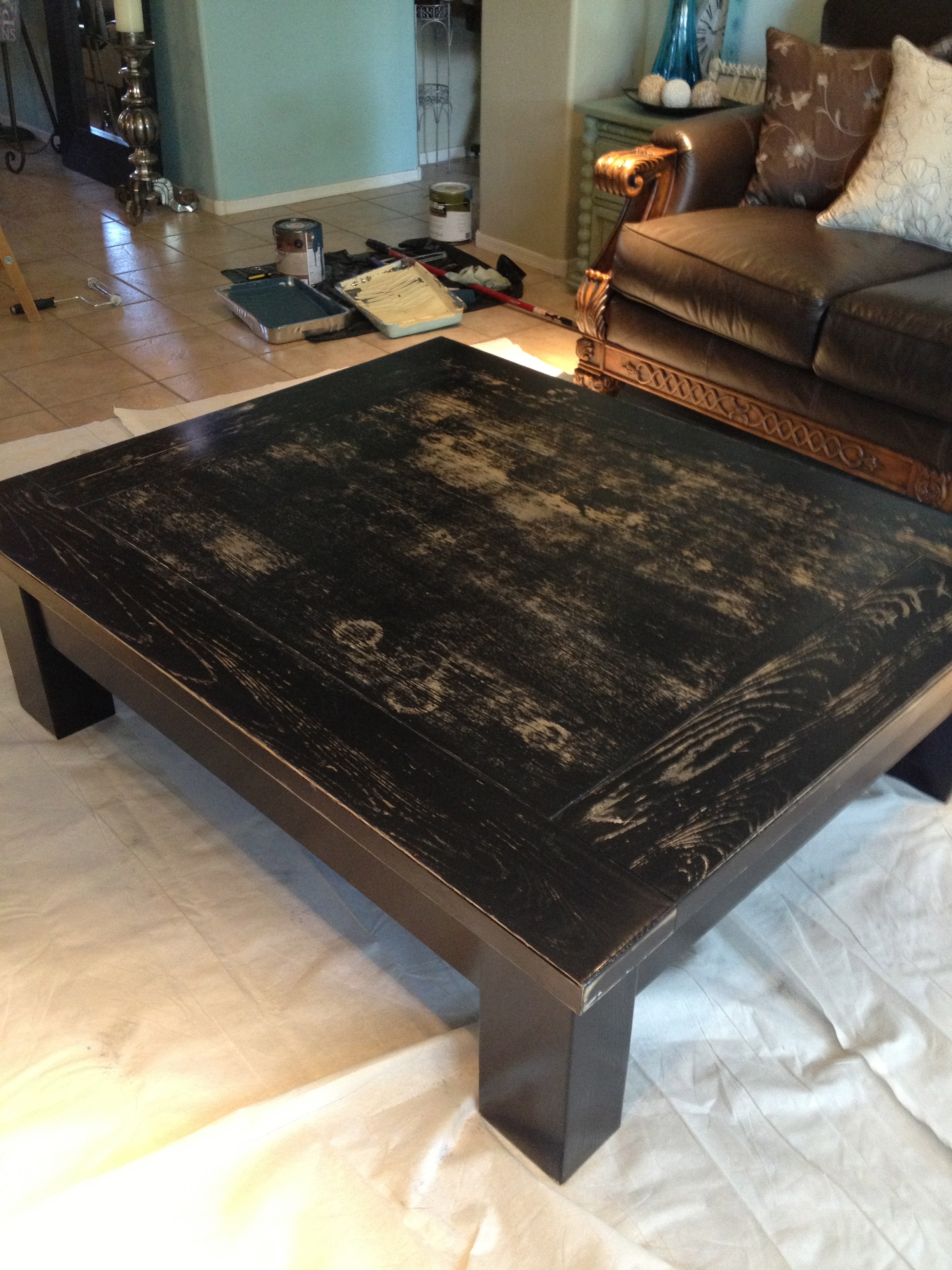 "Silvery ""Jewels"" Coffee Table House of Rumours"