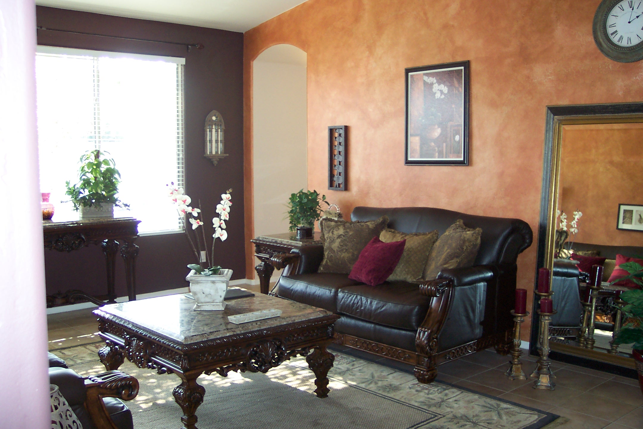 Tuscan To Eclectic Living Room House Makeover Part 1