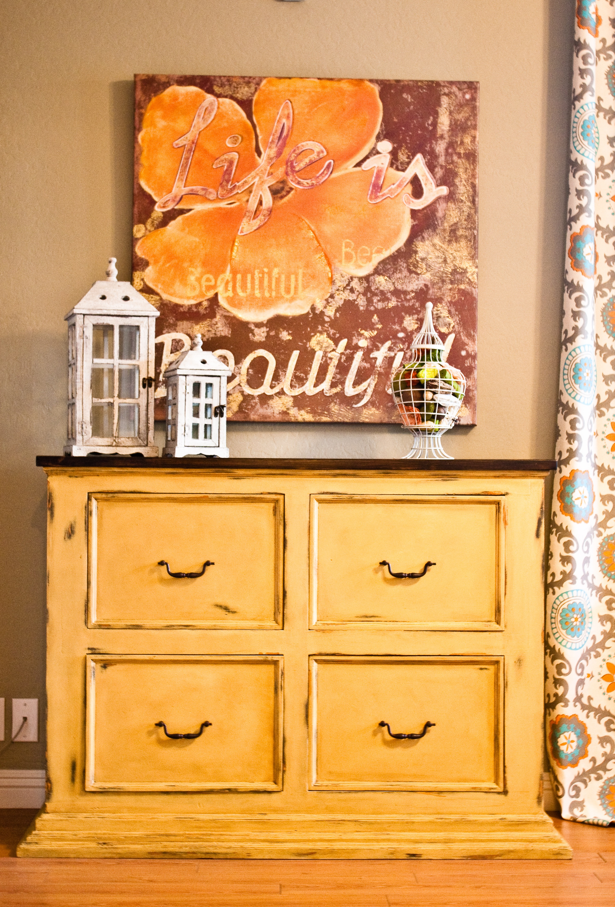 Tired Of The Rustic Pine Look Dresser Facelift 187 House
