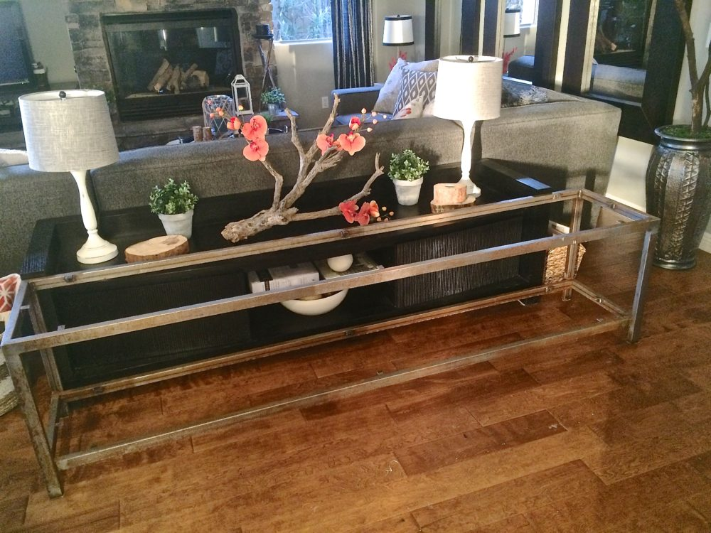 Industrial Sofa Table 187 House Of Rumours